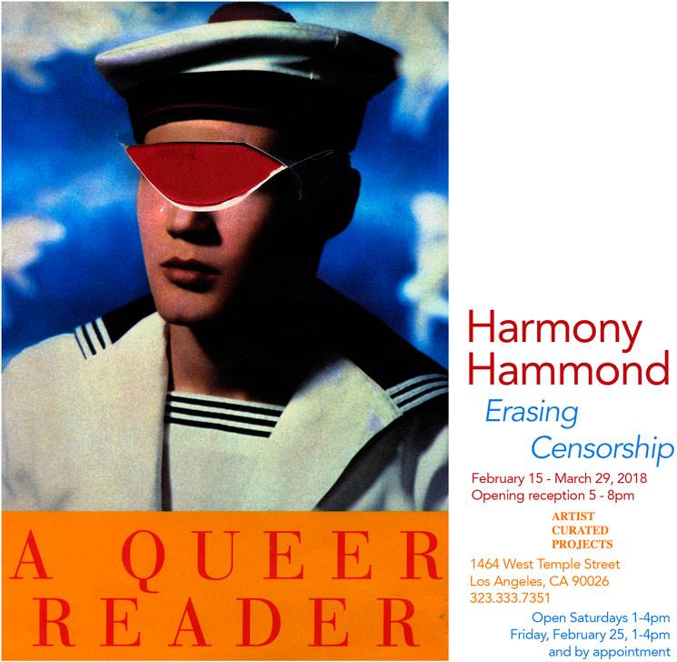 Invitation by Harmony Hammond