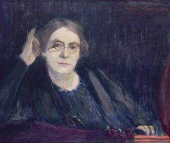 Selbstbildnis III, 1905 by Ida Gerhardi