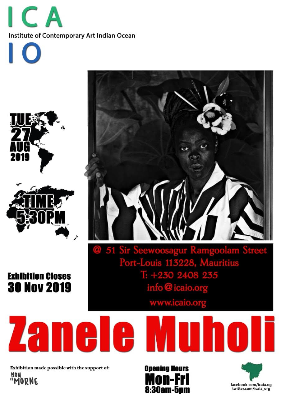 Zanele Muholi at the Institute of Contemporary Art Indian Ocean