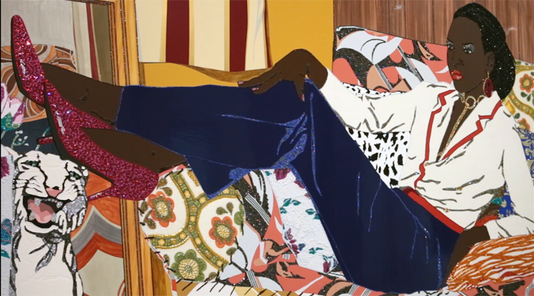 Copyright Mickalene Thomas