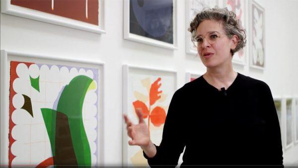 Ulrike Müller - video still, copyright the filmmaker, BiennaleChannel
