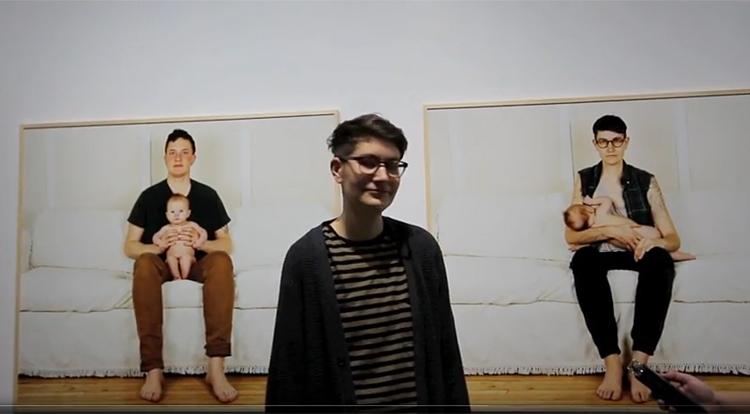 JJ Levine - still from the video, copyright the filmmaker