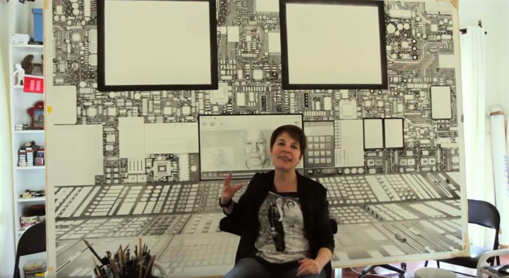 Filmstill, copyright Laurie Lipton and the filmmaker