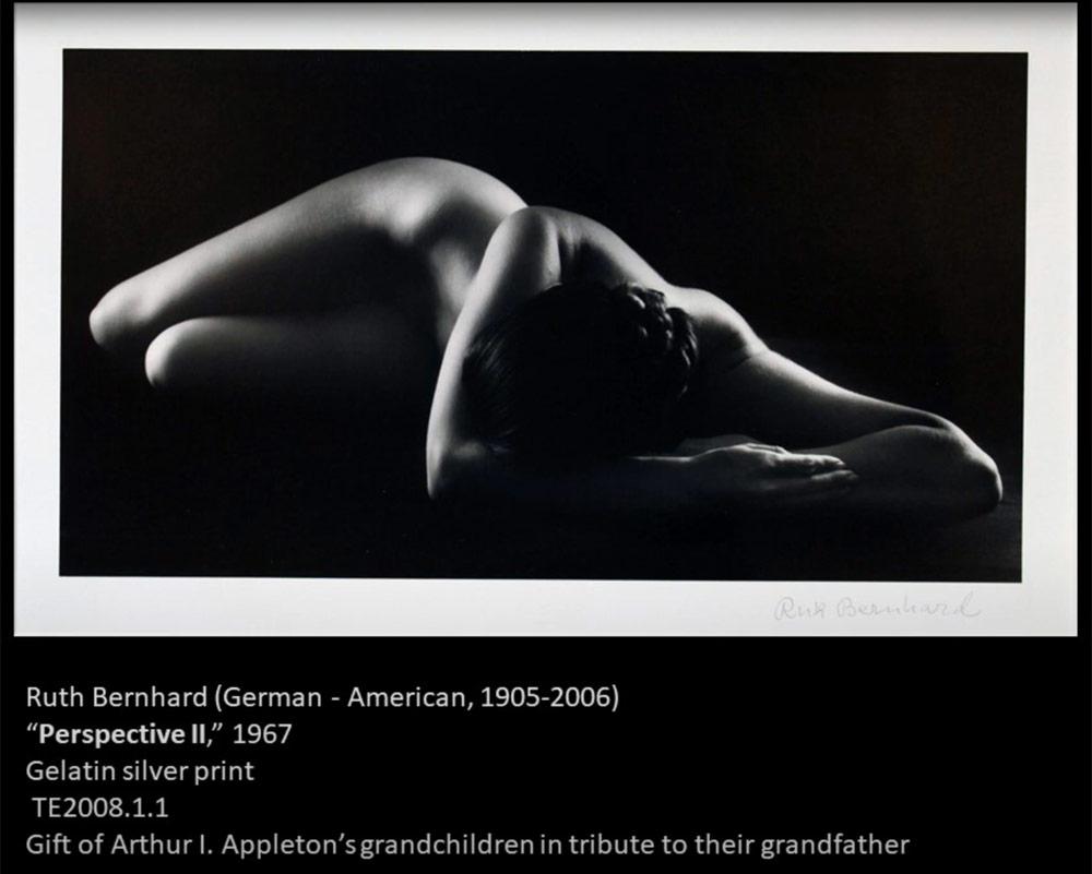 Video still: work by Ruth Bernhard